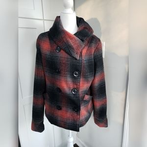 Charlotte Russe Plaid Coat